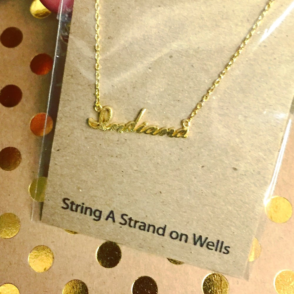 String A Strand On Wells