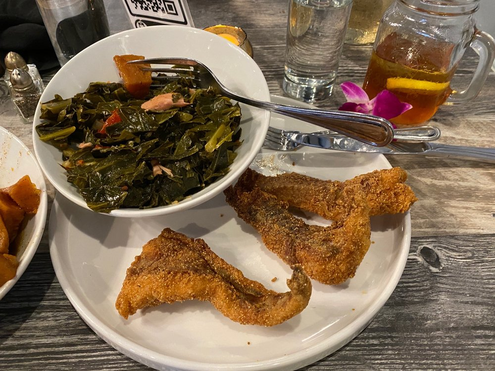 Food from Sweet T's Southern Eatery