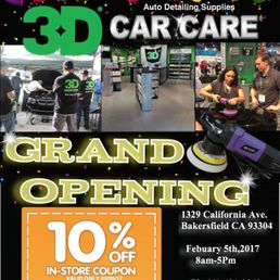 Car Detailing Services Near Me >> 3D Of Bakersfield - Auto Detailing - 1329 California Ave ...