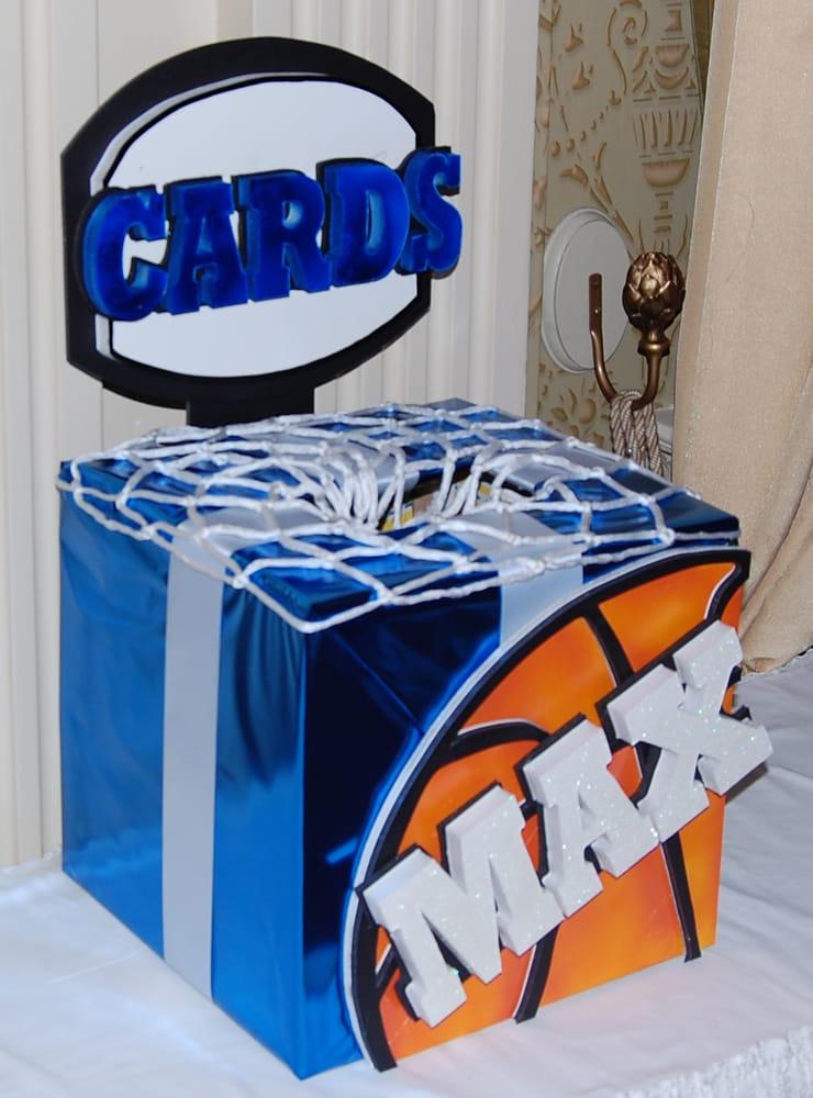 Basketball Bar Mitzvah Card Box Yelp