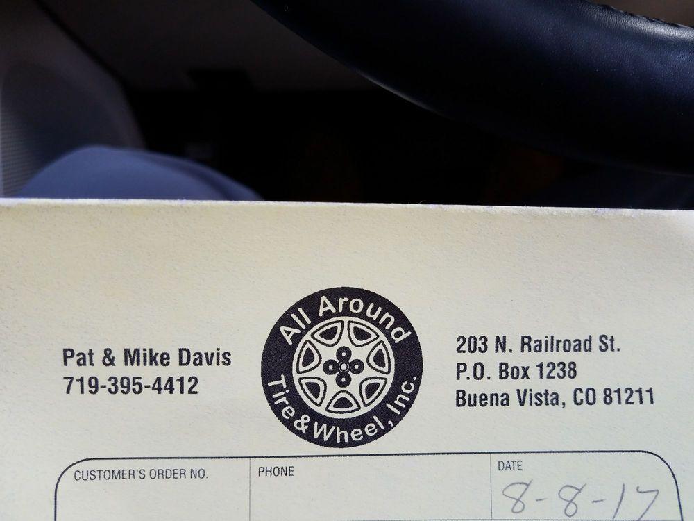 All Around Tire & Wheel Llp: 203 N Railroad, Buena Vista, CO