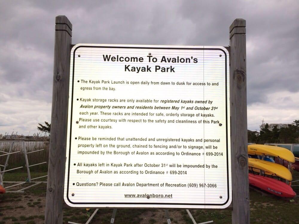 Avalon's Kayak Beach: 316 57th St, Avalon, NJ