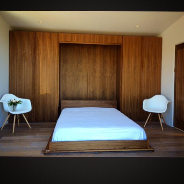 interesting mid century murphy bed wall unit yelp