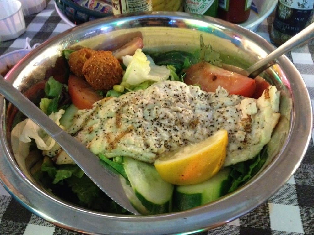 Grouper salad yelp for Flying fish fort worth