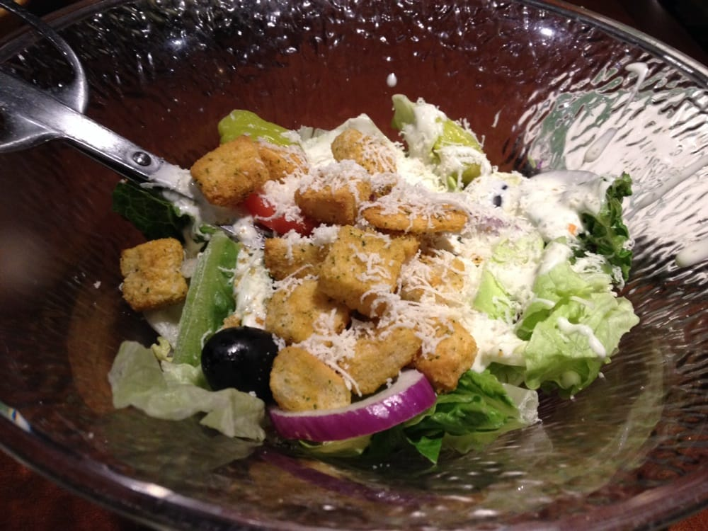 Salad w ranch olive garden italian restaurant 1 18 - Olive garden italian restaurant las vegas nv ...