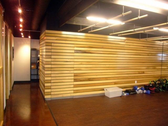 Wood Slat Wall wood slat wall - yelp