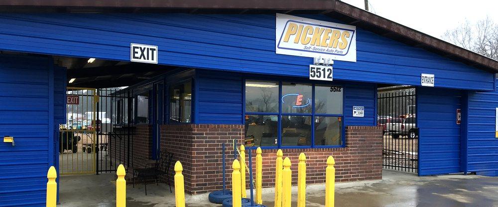 Pickers Self-Service Auto Parts: 5512 East 9th, Texarkana, AR