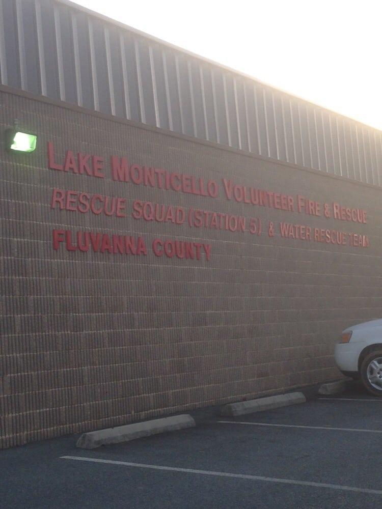 Lake Mointicello Volunteer Rescue Squad: 14 Slice Rd, Palmyra, VA