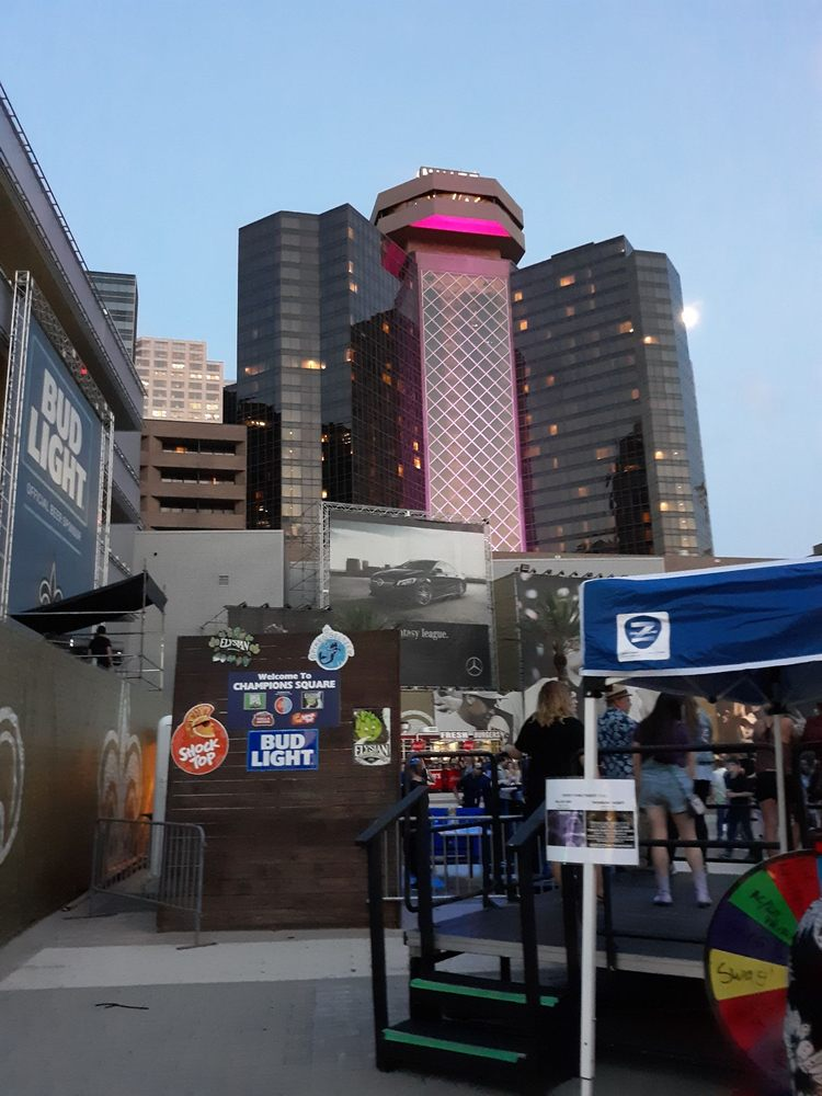 Champions Square: Champions Square Next To Mercedes-Benz Superdome, New Orleans, LA