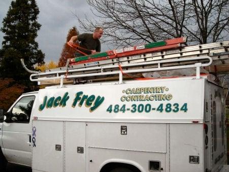 Jack Frey Carpentry Contracting: 2549 Jane Ln, Gilbertsville, PA
