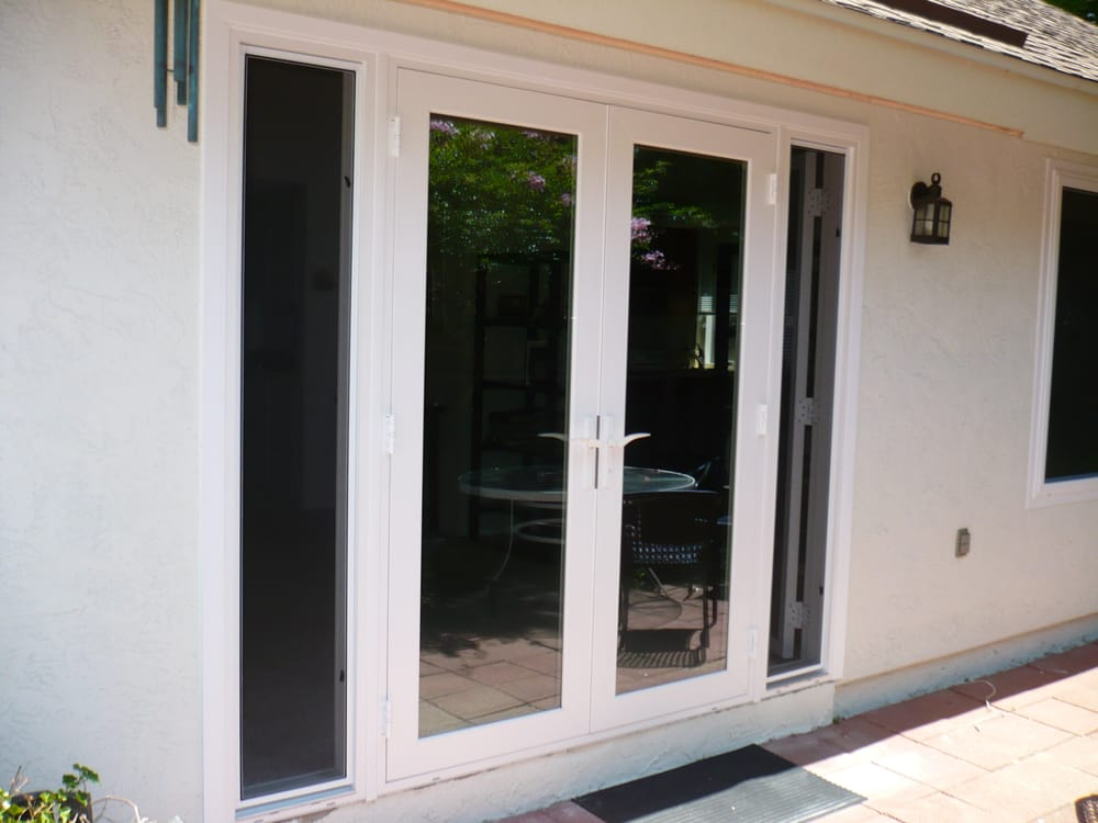 Retrofit french door withoperational sidelights yelp for All side windows