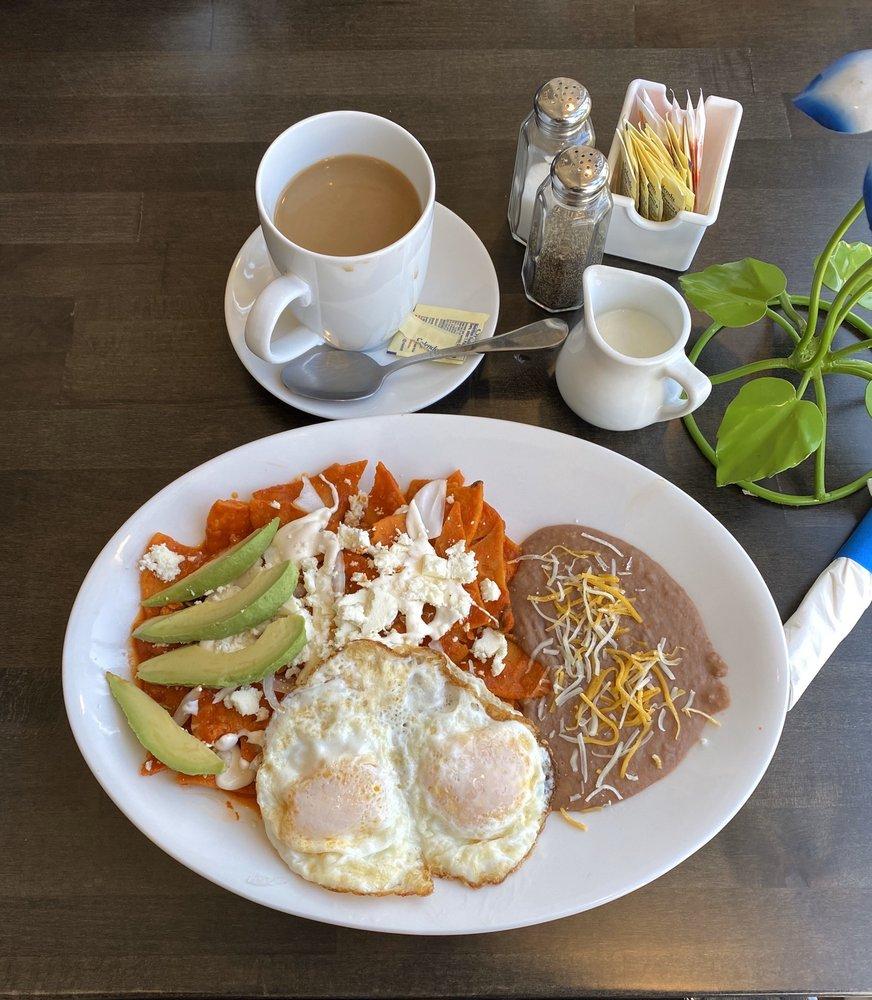 Food from La Villa Mexican and Salvadoran Food