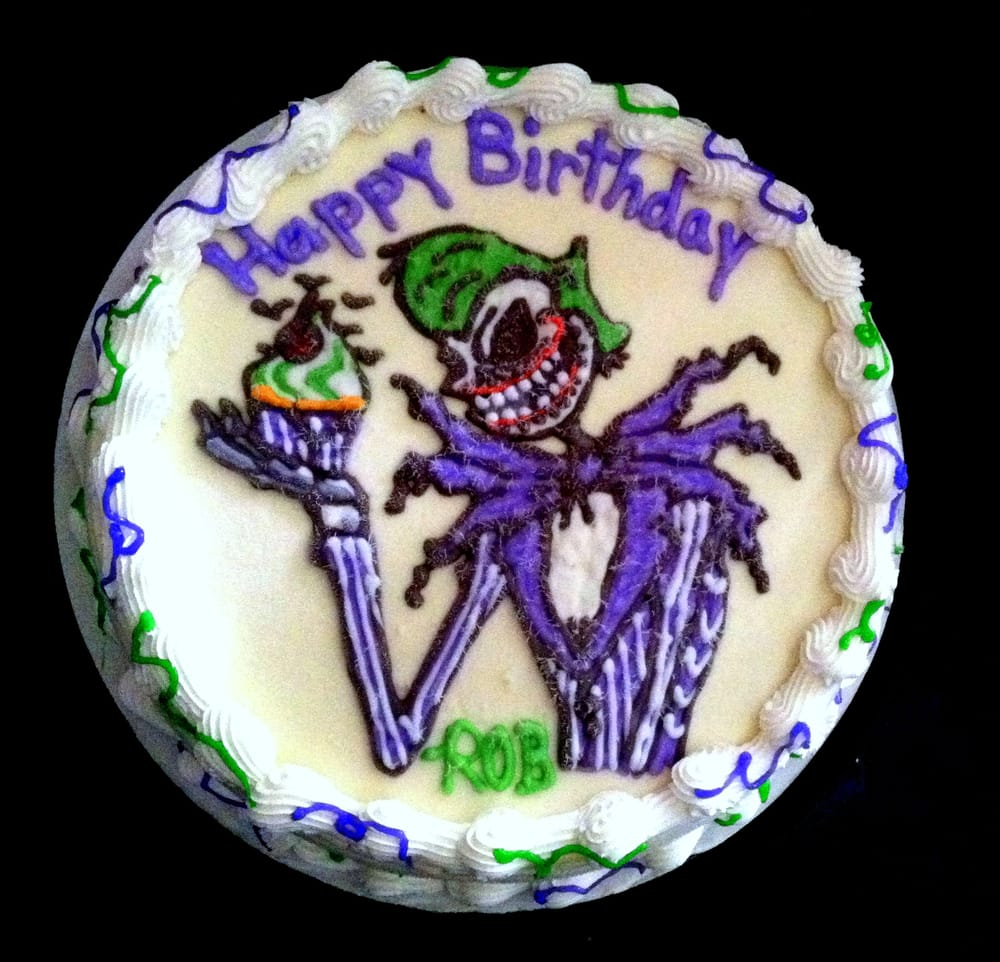 Incredible Skills Joker Jack Skellington Bday Cake I Love The