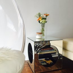 Gorgeous Mirror Side Table Yelp