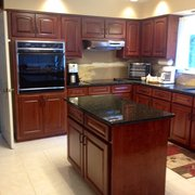 Refinished Cabinets Photo Of R U0026 R Cabinets   Columbus, GA, United States.