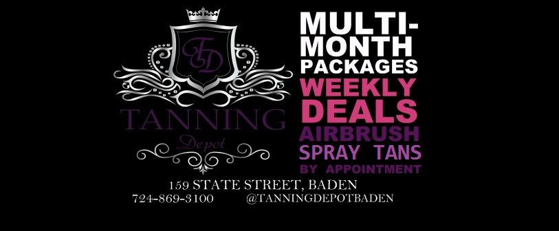 Tanning Depot: 159 State St, Baden, PA