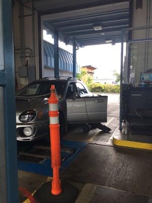 Washington State Motor Vehicle Emission Inspection Station 805 Sw