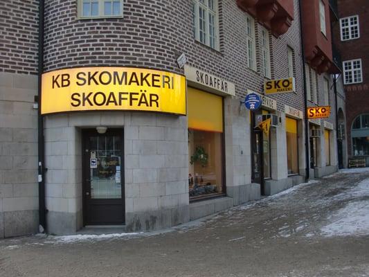skoaffär stockholm city