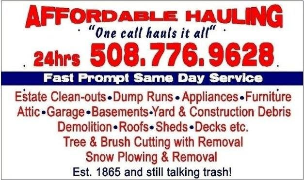 Affordable Hauling: Buzzards Bay, MA
