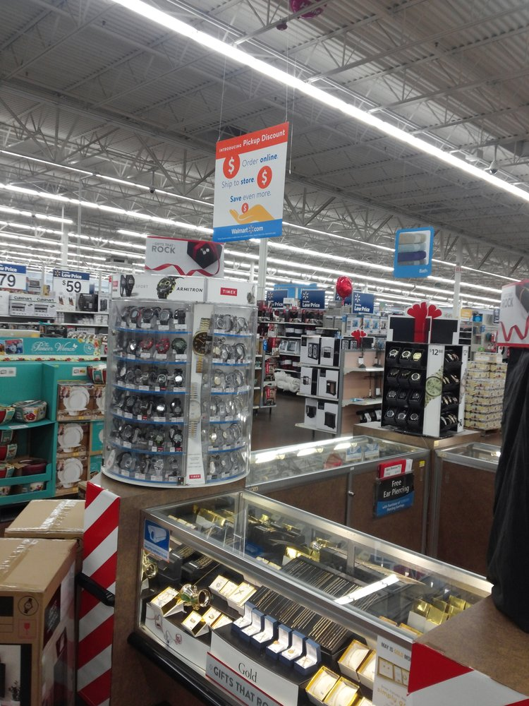 Walmart Near The Jewelry Section Yelp