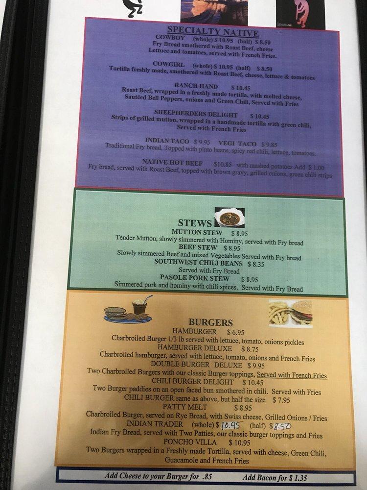 Keams Canyon Cafe: 403 State Route 264, Keams Canyon, AZ