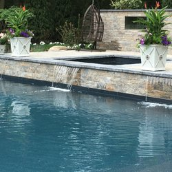 Long island pool and patio