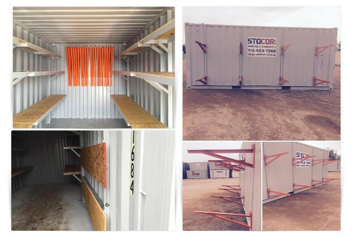 Stocor Portable Storage: 6640 State Hwy 13 S, Wisconsin Rapids, WI