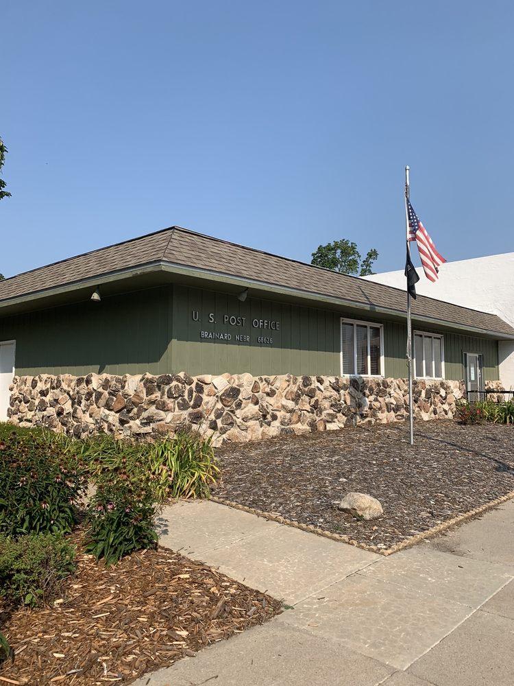 US Post Office: 100 N Madison St, Brainard, NE