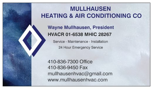 Mullhausen Heating & Air Conditioning Service: 500 Bynum Rd, Forest Hill, MD
