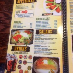 Exceptional Photo Of El Patio   Alachua, FL, United States. The Menu Is Huge