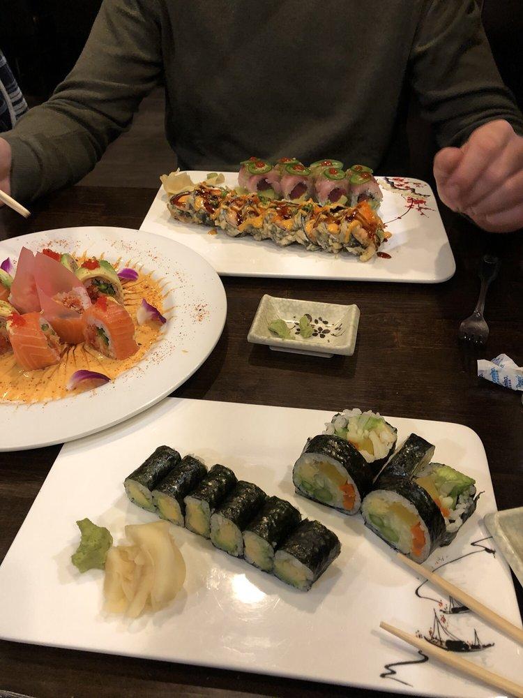 Food from Fuji Hibachi & Asian Bistro