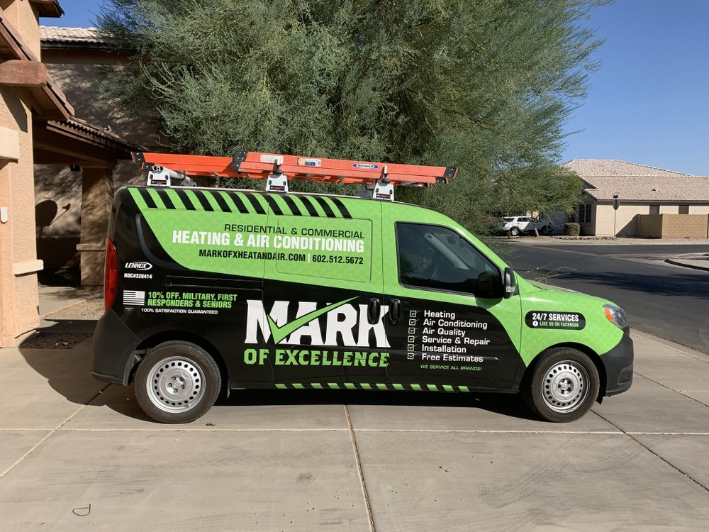 Mark Of Excellence Heating & Air Conditioning: Maricopa, AZ