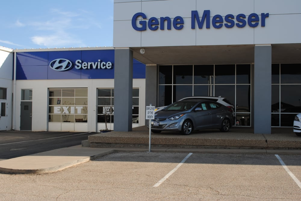 Gene Messer Hyundai | Lubbock Car Dealership Near Me