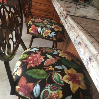 Photo Of Hidalgo Upholstery   Miami, FL, United States. Bar Chairs With  Matching