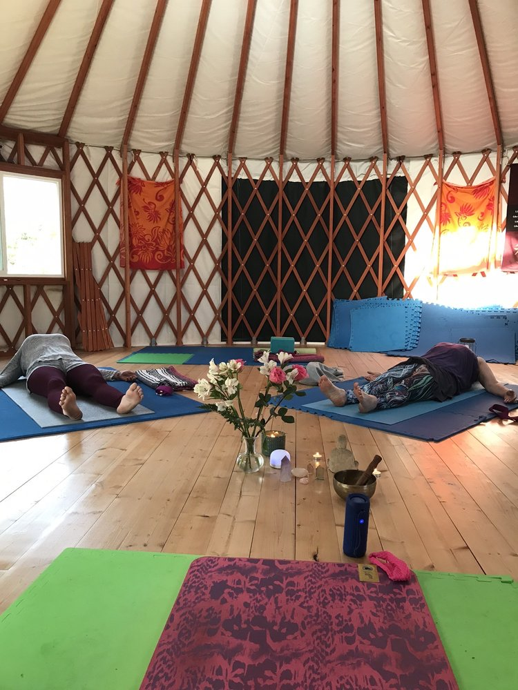 Yoga Yurt Hawaii: 11-2518 Kokokahi Rd, Volcano, HI