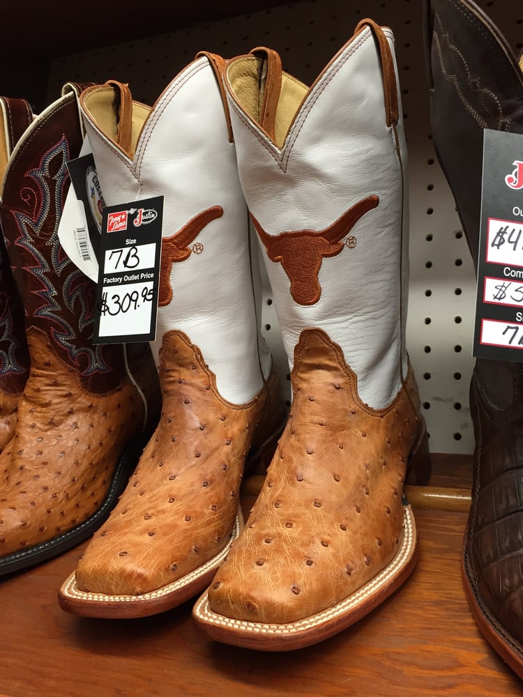 Justin Boots Factory Outlet