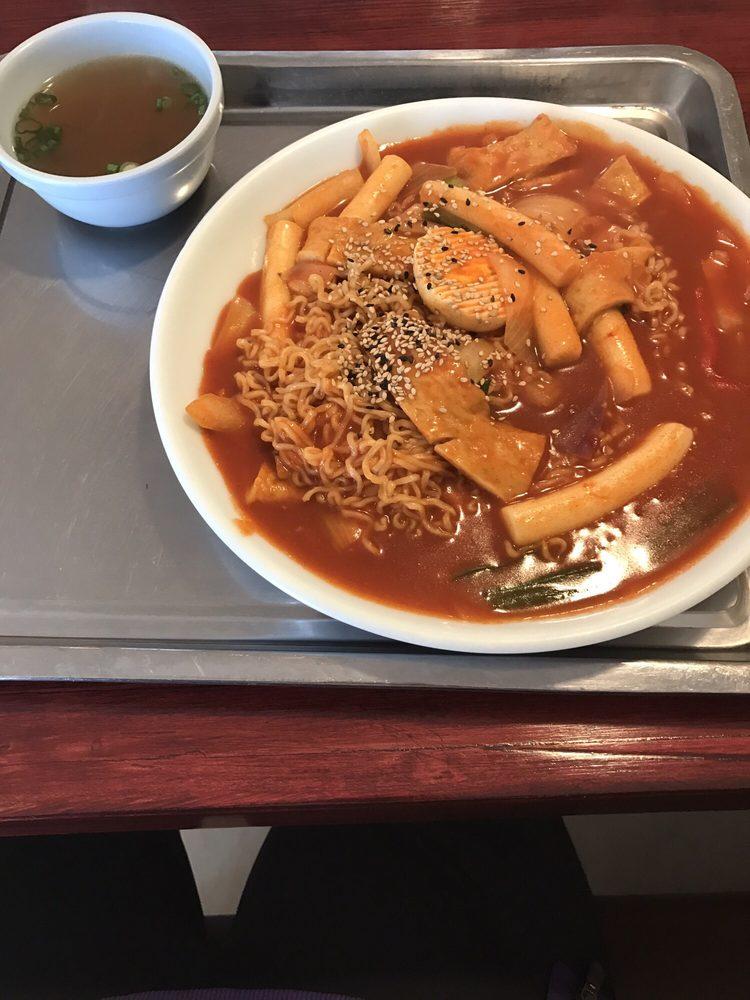 Food from Go Goo Ma Korean