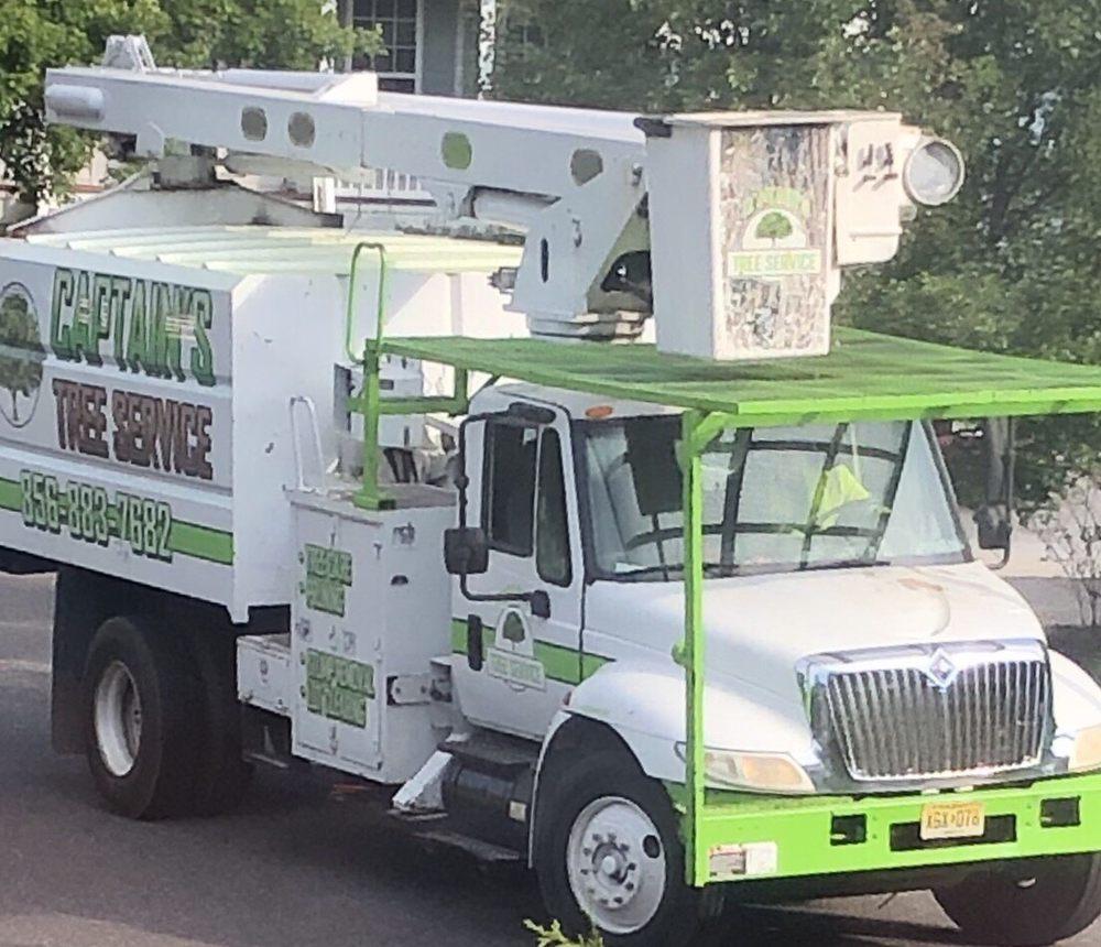 Captain's Tree Service: Lindenwold, NJ