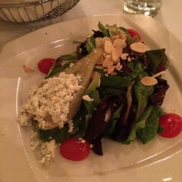 Broadway Bistro - Nyack, NY, United States. Pear and goat cheese salad