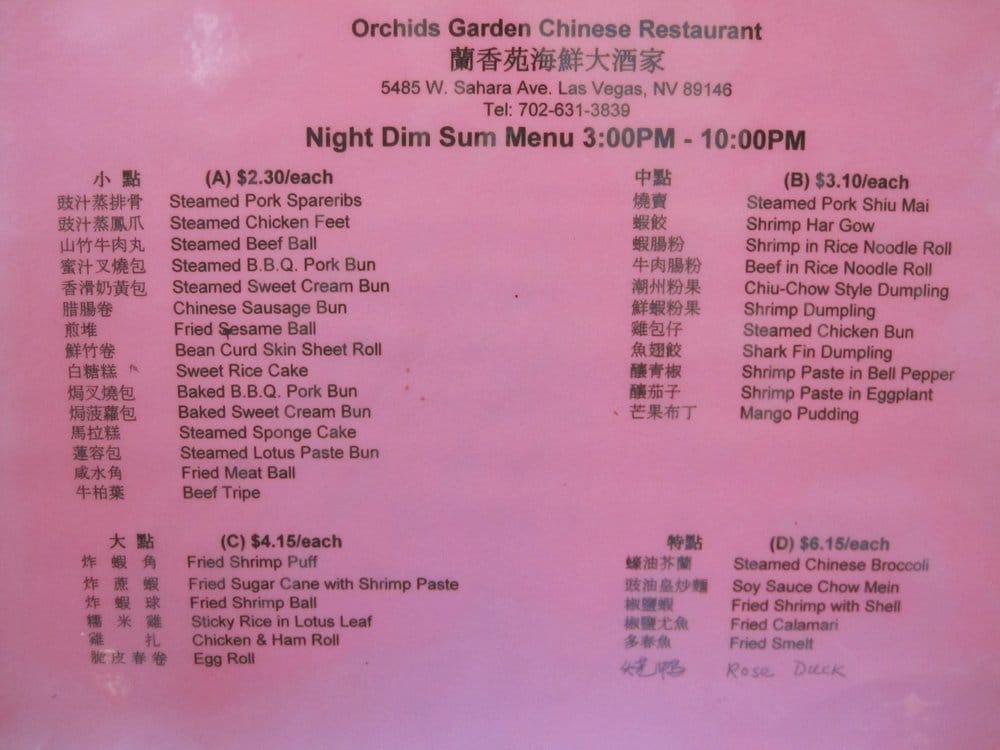 Orchids Garden Chinese Restaurant 980 Fotos 736