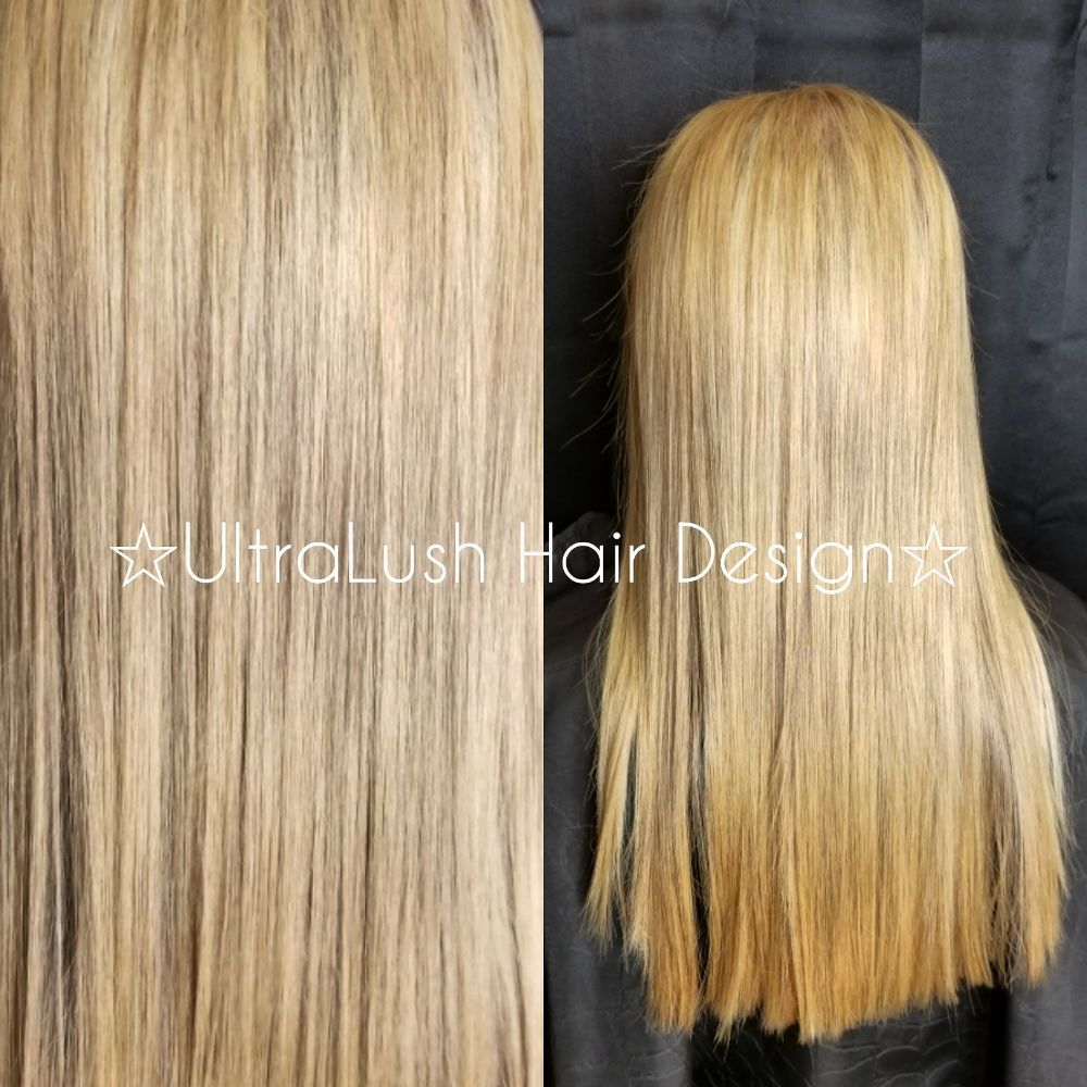 A Full Set Of Highlights And Then Toned With A 9gi Toner For A