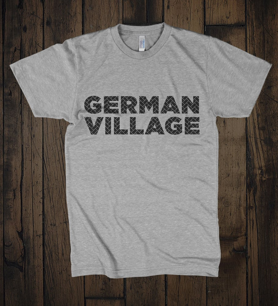 T shirt designed and printed for the german village for Columbus ohio t shirt printing