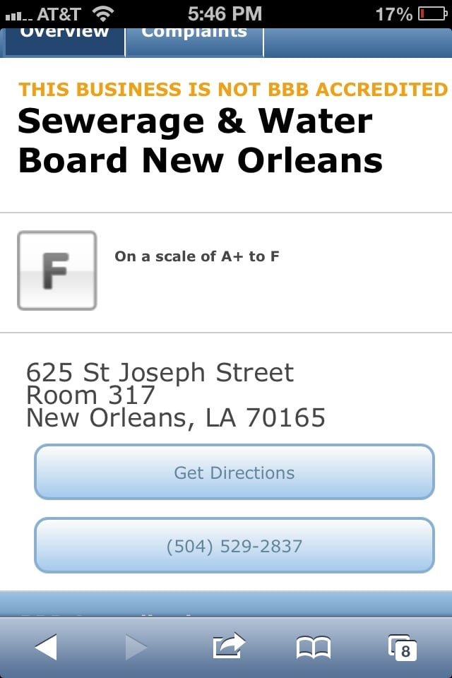 New Orleans Sewer And Water Board 113