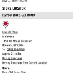 Ala Moana Center is located in Honolulu, Hawaii and offers stores - Scroll down for Ala Moana Center shopping information: store list (directory), locations, mall hours, contact and address.3/5(5).