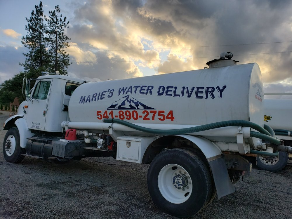 Marie's water delivery: 2391 Browsboro Meridian Rd, Eagle Point, OR