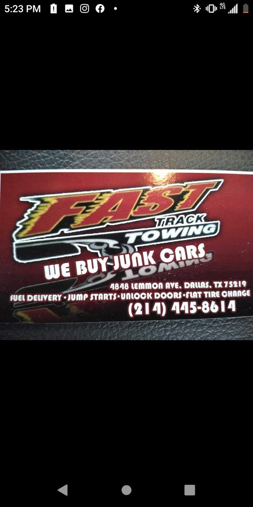 Towing business in Highland Park, TX