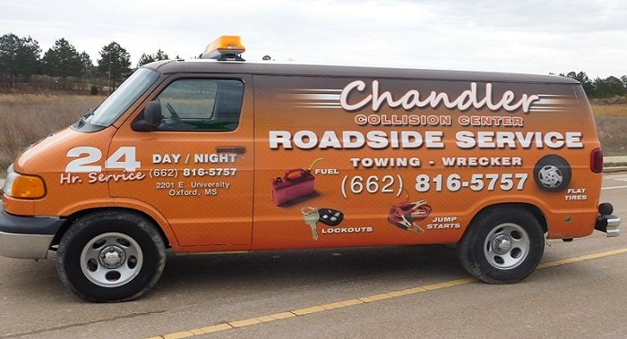 Chandler Towing: 97 Ricky D Britt Sr Blvd, Oxford, MS
