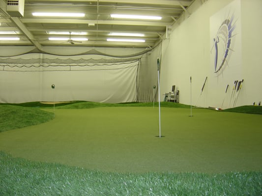 Driving Force Golf Indoor Driving Range and Practice Facility ...