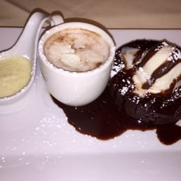 The Park Steakhouse - Park Ridge, NJ, United States. Amazing chocolate lava cake !!!