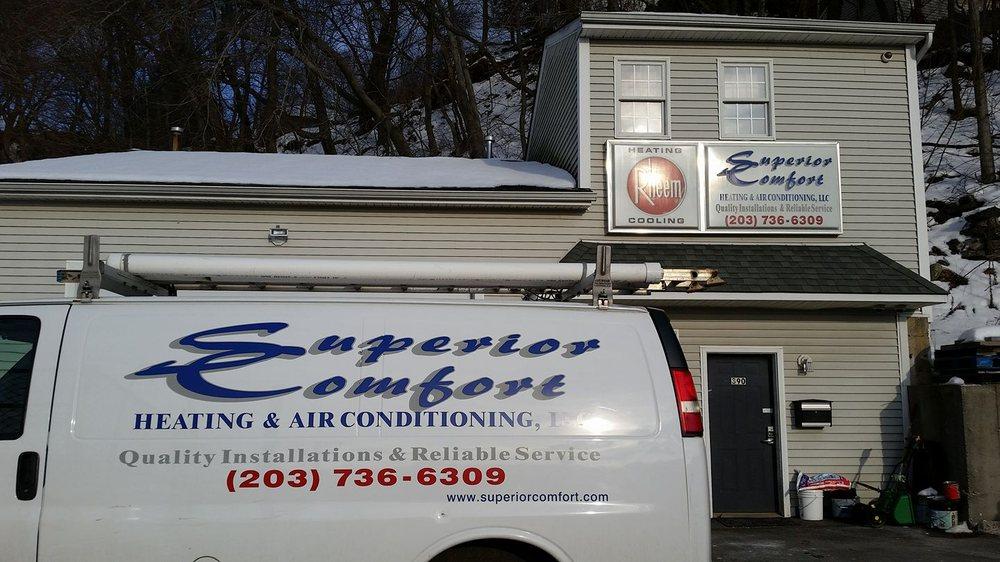 Superior Comfort Heating & Air Conditioning: 390 E Main St, Ansonia, CT